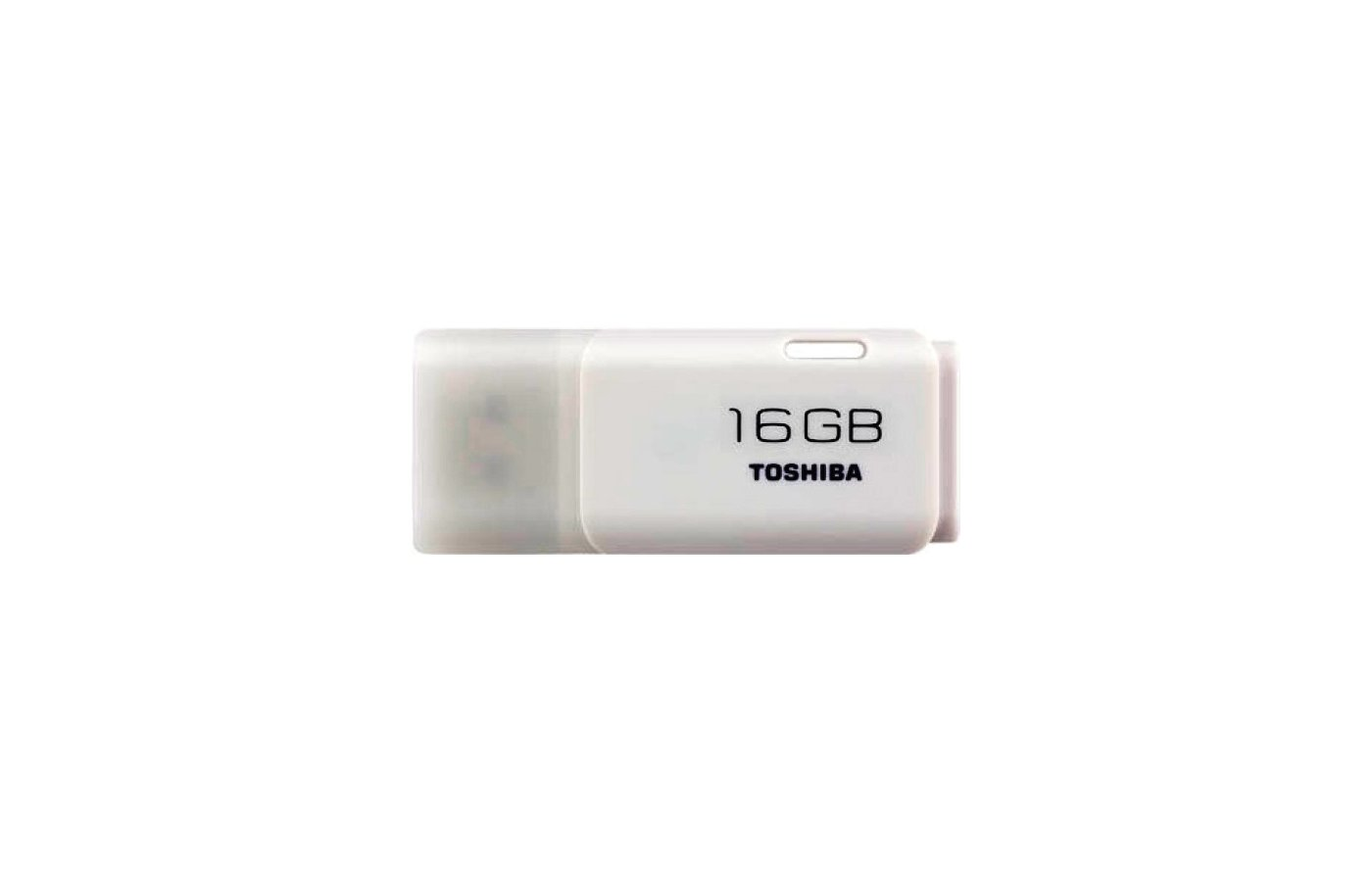 Флеш-диск Toshiba 16Gb Hayabusa U202 THN-U202W0160E4 USB2.0 белый
