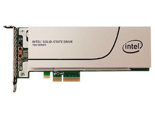 SSD жесткий диск Intel Original PCI-E 400Gb SSDPEDMW400G4X1 750 Series