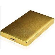 Корпус для жесткого диска AgeStar 31UB2A15 SATA алюминий золотистый