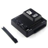 Корпус для жесткого диска AgeStar 3FBCP SATA IDE пластик черный Док-станция для HDD/SSD