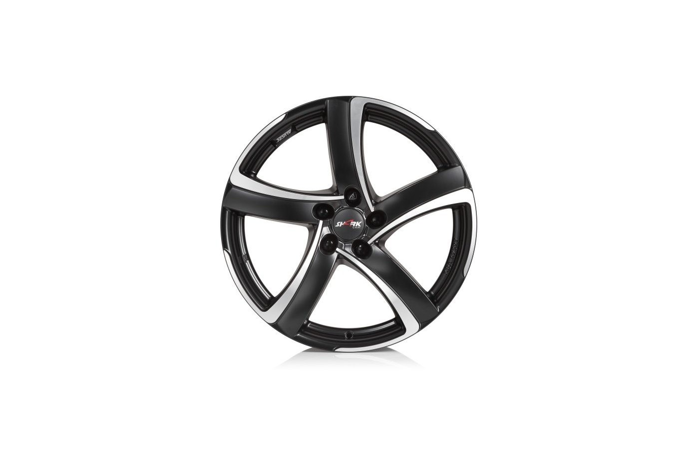 Диск ALUTEC Shark 7.5x17/5x114.3 D70.1 ET38 Racing Black Front Pol