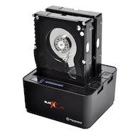 Корпус для жесткого диска Thermaltake BlacX Duet 5G ST0022E SATA Док-станция для HDD пластик черный поддерживаются HDD объемом