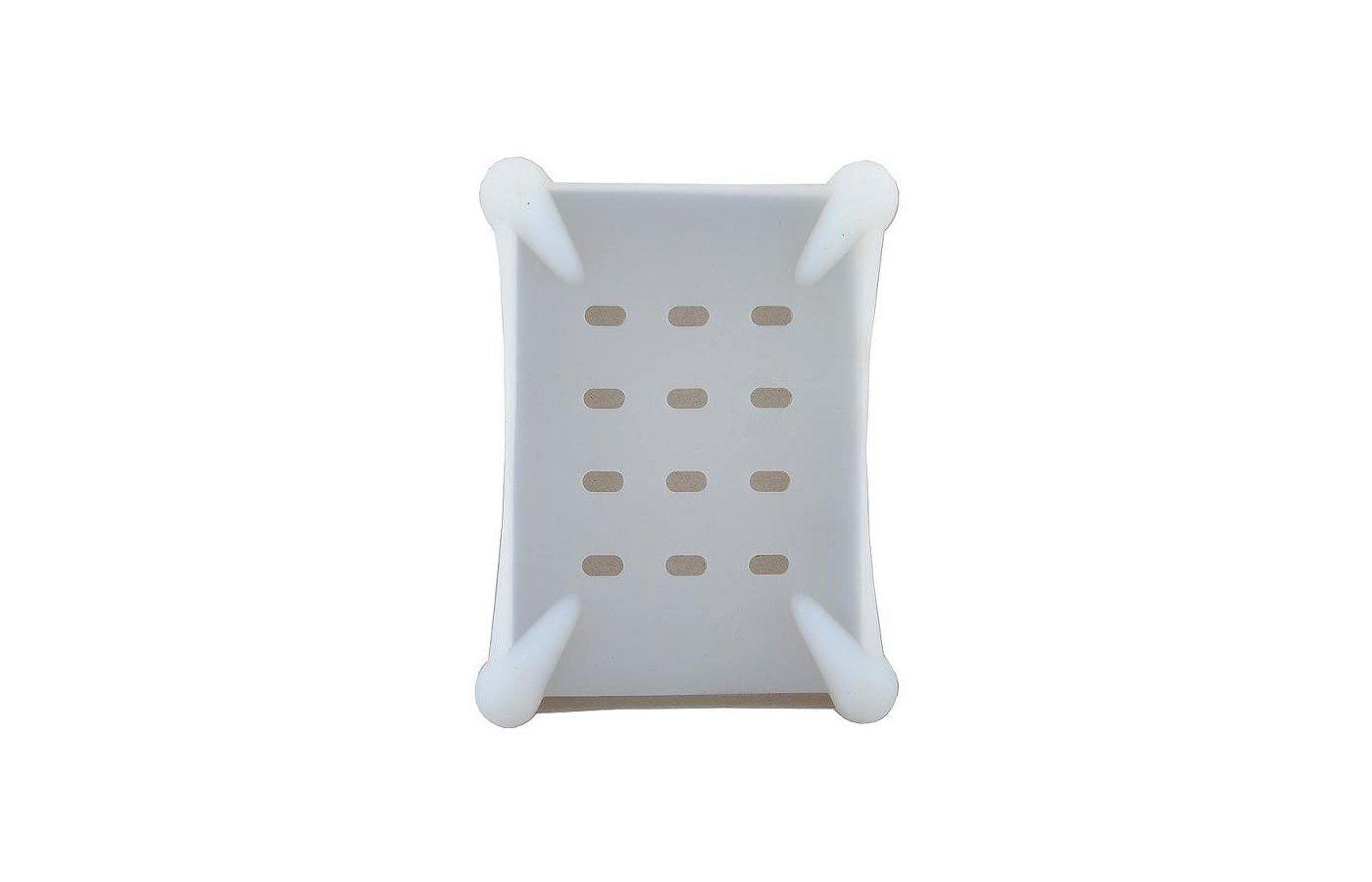 "Корпус для жесткого диска AgeStar Защитный чехол для HDD 3.5"" SHP-3-J W силикон белый"