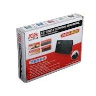 Фото Корпус для жесткого диска AgeStar 3UB2A14 USB 3.0-SATA пластик/алюминий синий