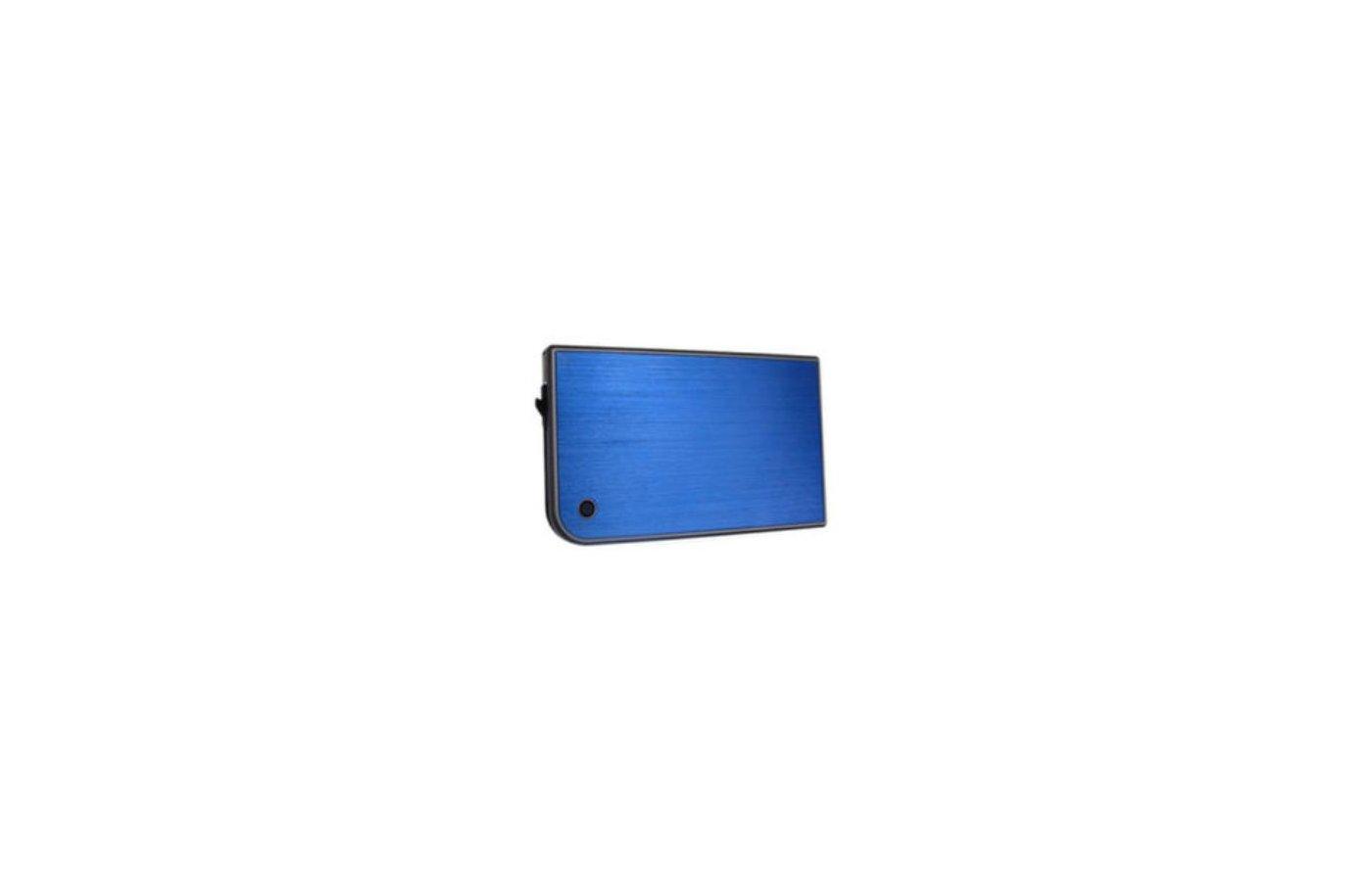 Корпус для жесткого диска AgeStar 3UB2A14 USB 3.0-SATA пластик/алюминий синий