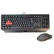 Клавиатура + мышь A4Tech Bloody Q1500 (Q110+Q9)