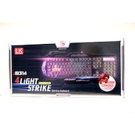 Фото Клавиатура проводная A4Tech Bloody B314 черный USB Multimedia Gamer LED (подставка для запястий)