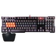 Клавиатура проводная A4Tech Bloody B720 черный USB Gamer LED (подставка для запястий)