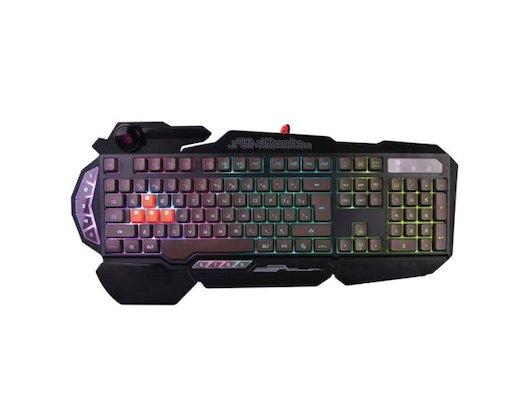 Клавиатура проводная A4Tech Bloody B314 черный USB Multimedia Gamer LED (подставка для запястий)