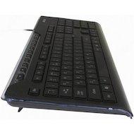 Фото Клавиатура проводная A4Tech KD-800 черный USB slim Multimedia