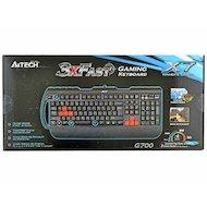 Фото Клавиатура проводная A4Tech X7-G700 черный PS/2 Multimedia Gamer (подставка для запястий)