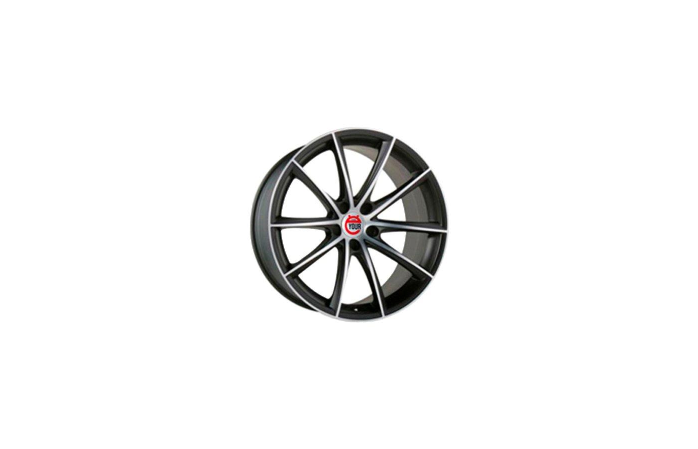 Диск Ё-wheels E16 6.5x16/4x100 D54.1 ET45 BKF