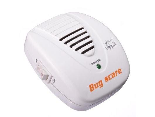 Средства для борьбы с насекомыми и грызунами Отпугиватель грызунов ультразвуковой с выключателем 220В радиус дейст. 60м2 156-073