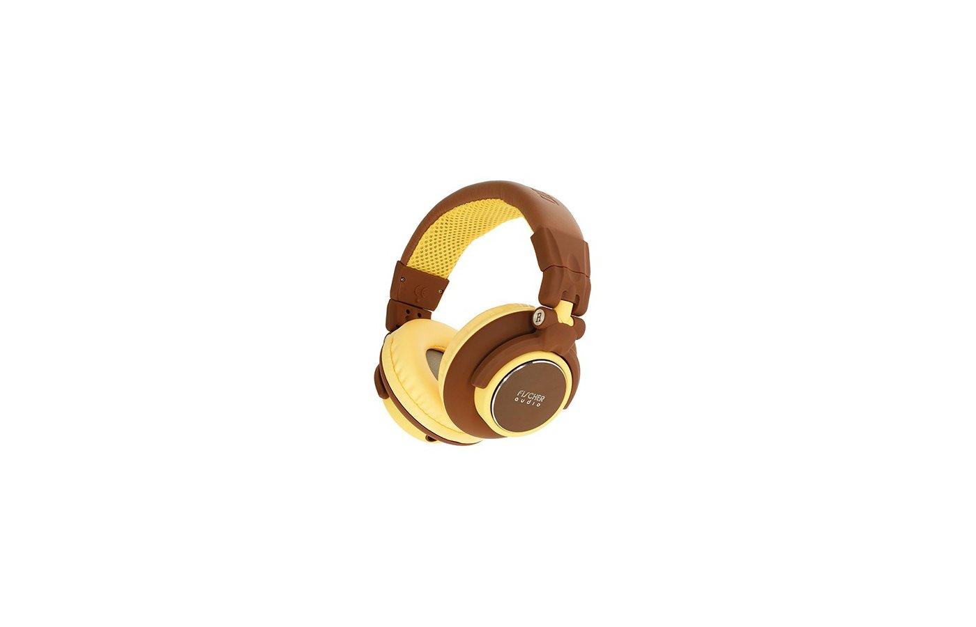 Наушники полноразмерные Fischer Audio FA-005 BROWN-YELLOW