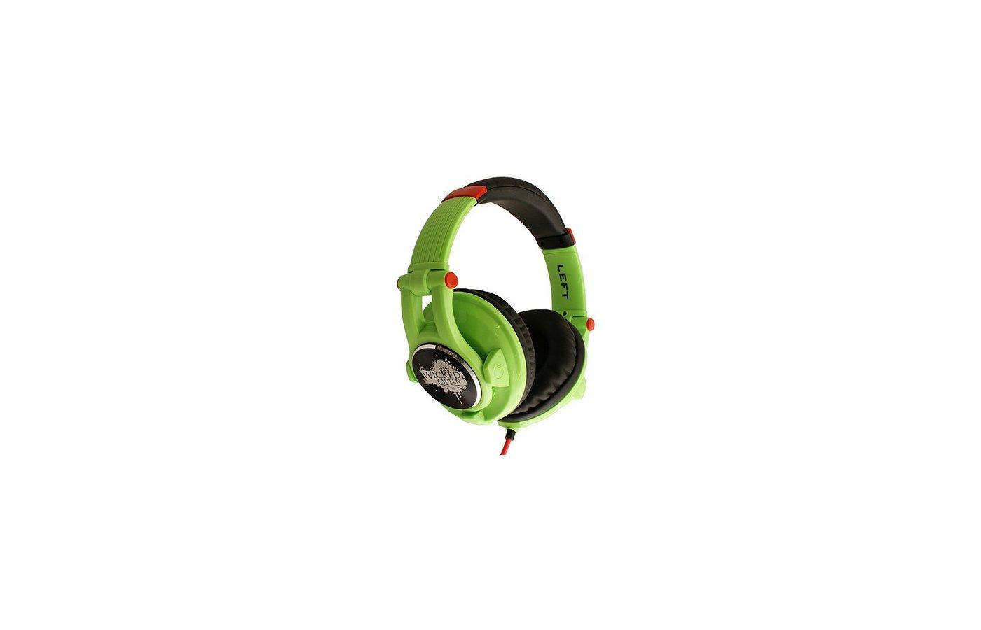 Наушники полноразмерные Fischer Audio Wicked Queen зеленый