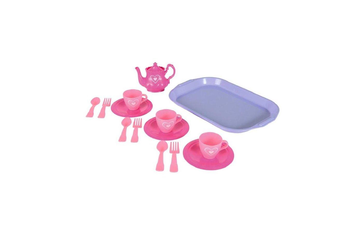 Игрушка SIMBA 4735259 Набор посуды на 3 персоны