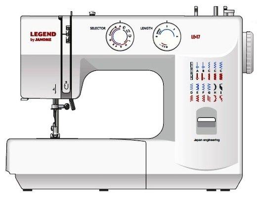 Швейная машина JANOME LE 17