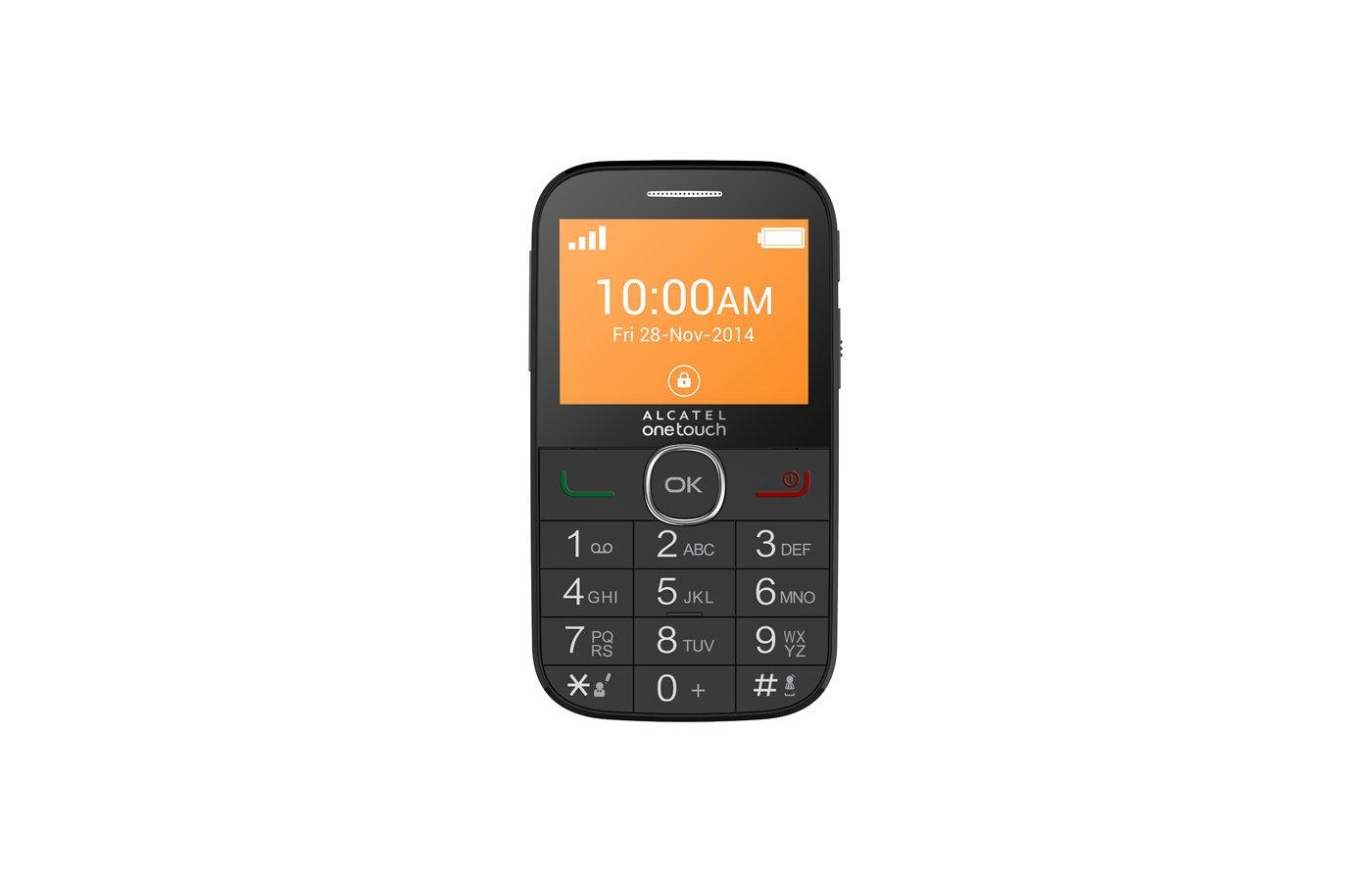 Мобильный телефон Alcatel 2004C black
