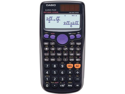 Калькулятор CASIO FX-85ES PLUS черный 12-разр.