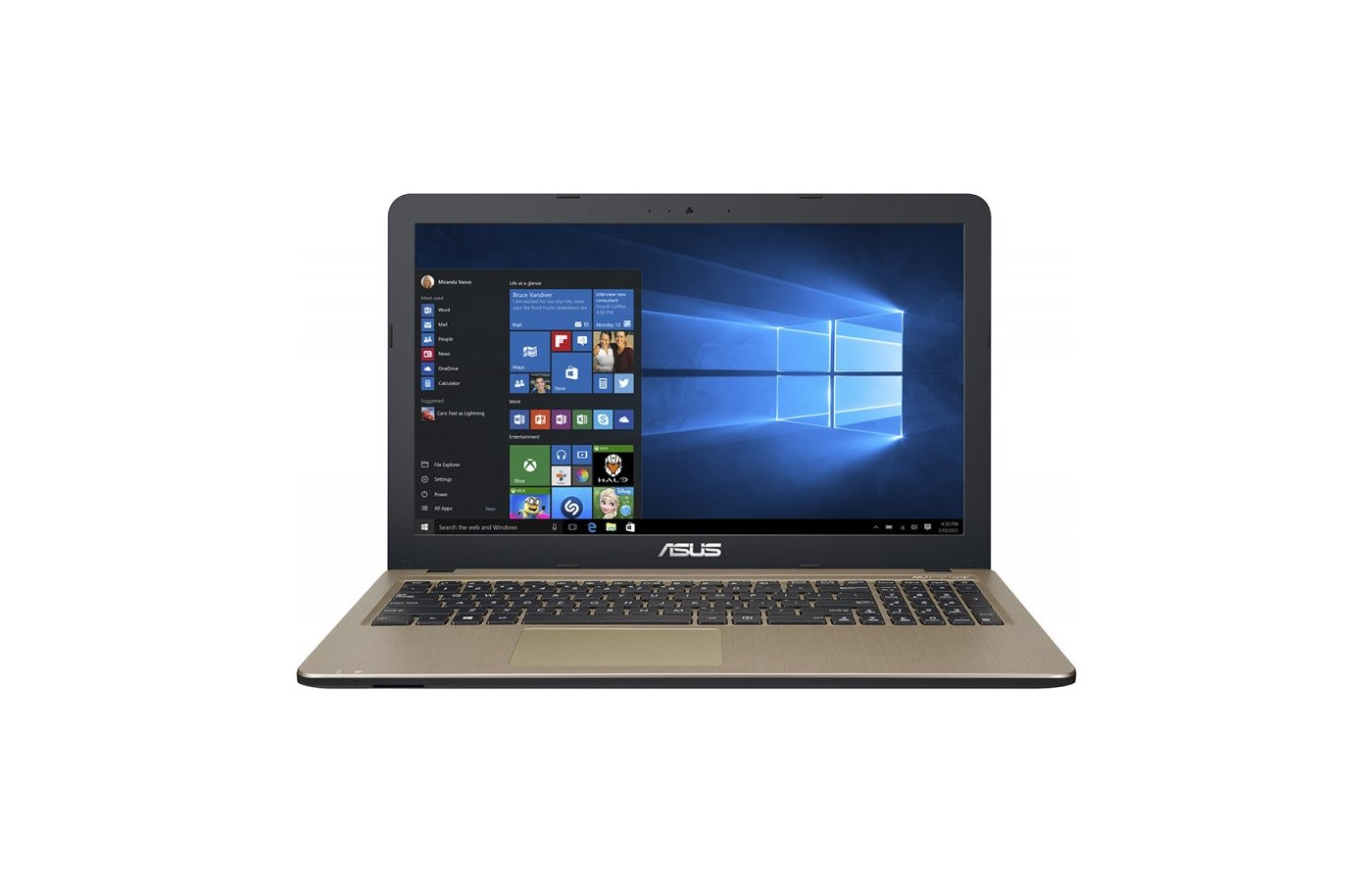 Ноутбук ASUS X540SA-XX002T /90NB0B31-M00790/ intel N3050/2Gb/500Gb/DVDRW/15.6/WiFi/Win10