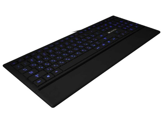 Клавиатура проводная CANYON CNS-HKB6RU USB slim Black