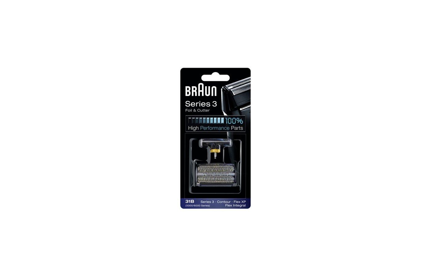 Сетки и блоки для бритв BRAUN сетка+реж.блок Series 3 31B