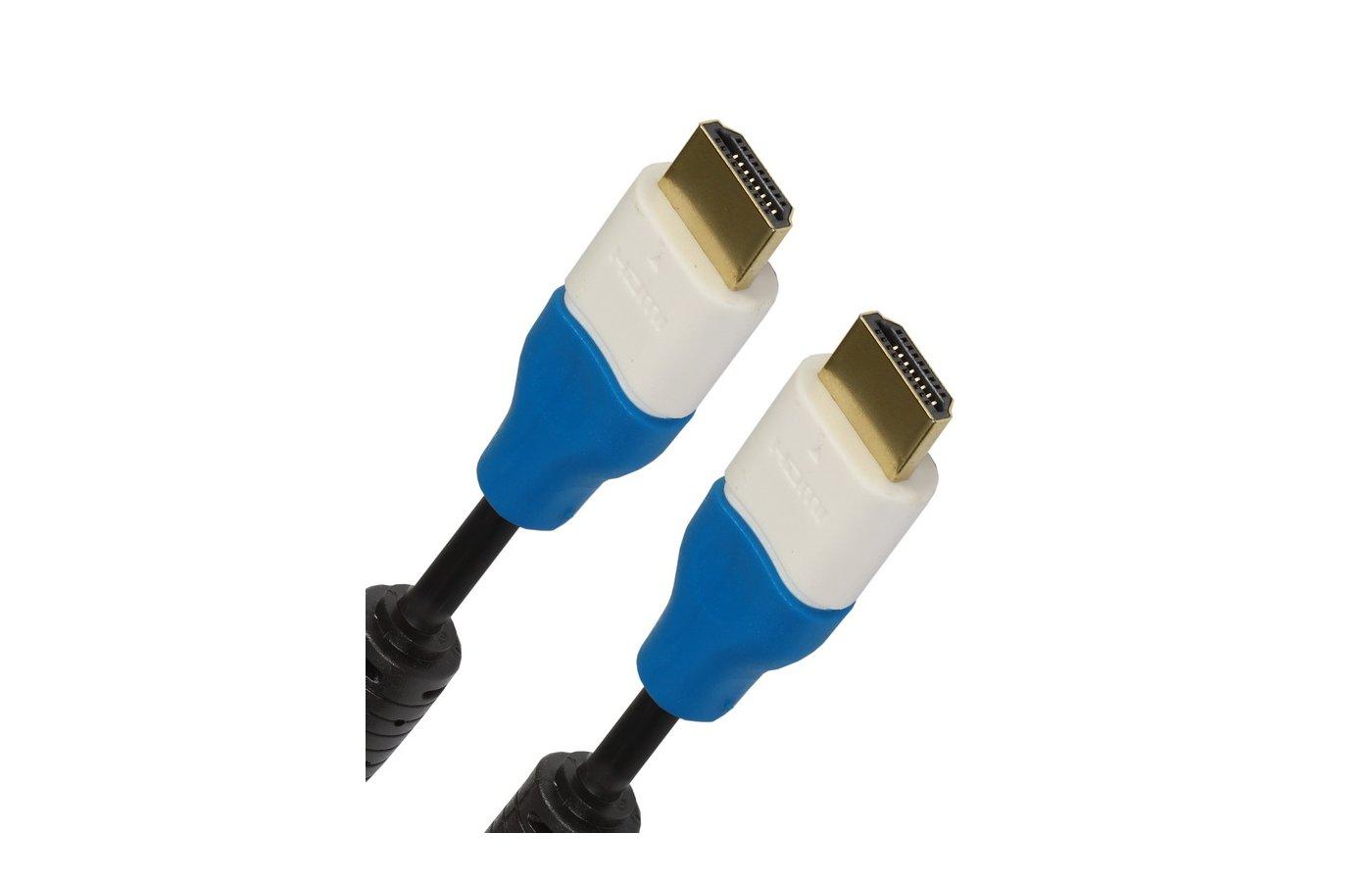 Кабель Smartbuy HDMI(m) - HDMI(m) 2 фильтра ver.1.4 (К332) 3м.