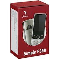 Фото Мобильный телефон Jinga Simple F350 черный/серебро