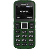 Мобильный телефон KENEKSI T3 Green