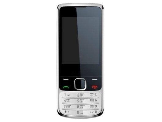 Мобильный телефон Jinga Simple F350 черный/серебро