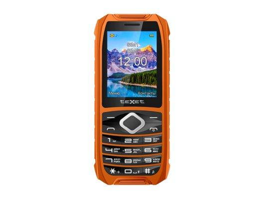 Мобильный телефон TeXet TM-508R black/orange