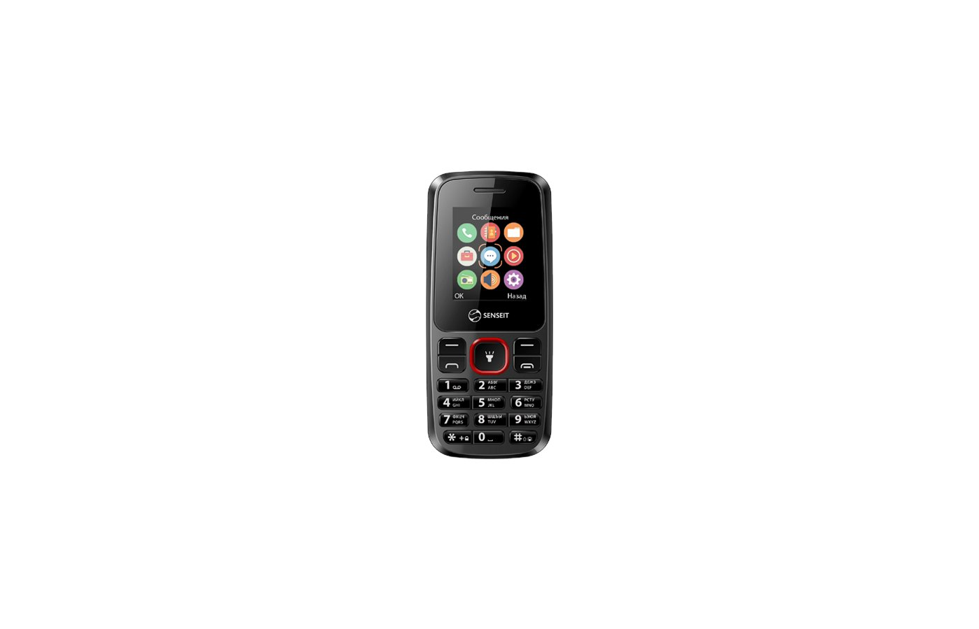 Мобильный телефон SENSEIT L105 Black