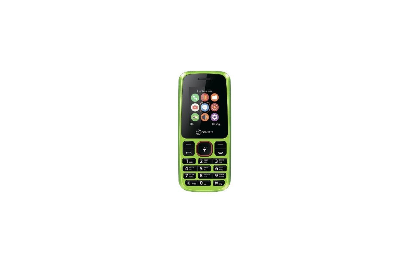 Мобильный телефон SENSEIT L105 Green