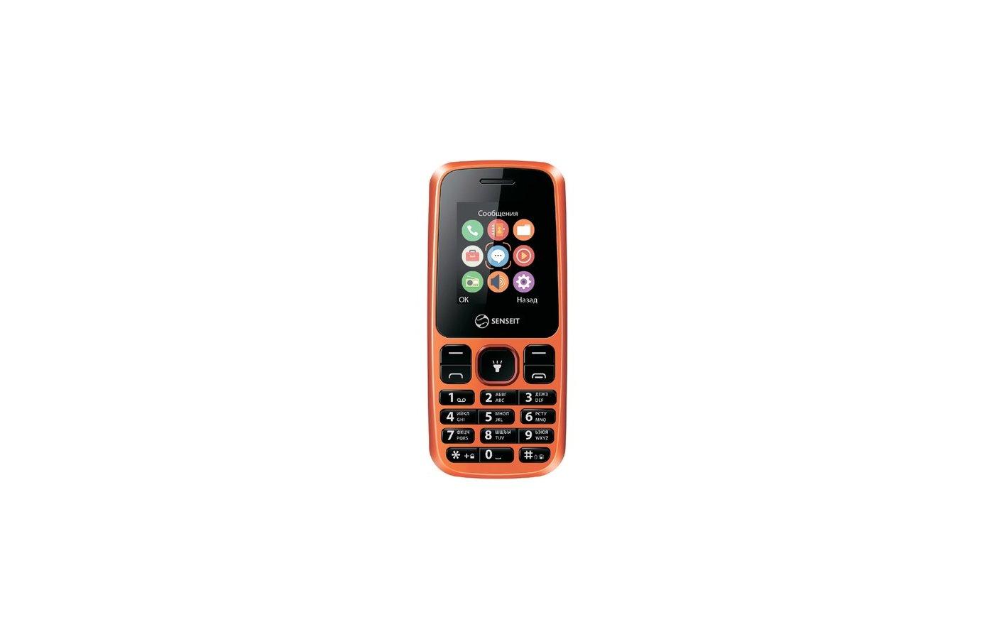 Мобильный телефон SENSEIT L105 Orange