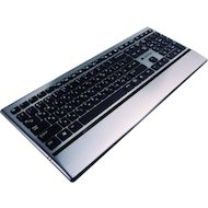 Клавиатура проводная CANYON CNS-HKB4RU USB slim Black-Silver