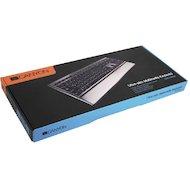 Фото Клавиатура проводная CANYON CNS-HKB4RU USB slim Black-Silver