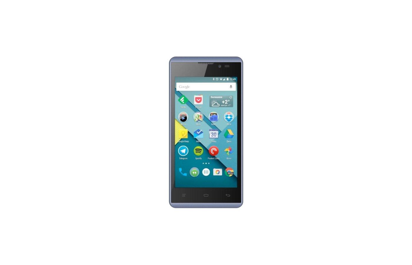 Смартфон Micromax D333 BOLT Blue