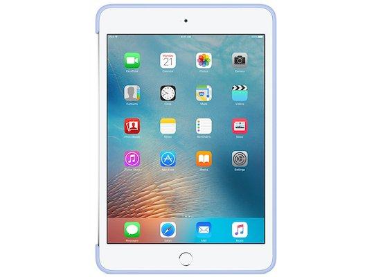 Чехол для планшетного ПК Apple iPad mini 4 Silicone Case - Lilac (MMM42ZM/A)