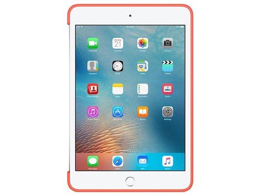 Чехол для планшетного ПК Apple iPad mini 4 Silicone Case - Pink (MLD52ZM/A)