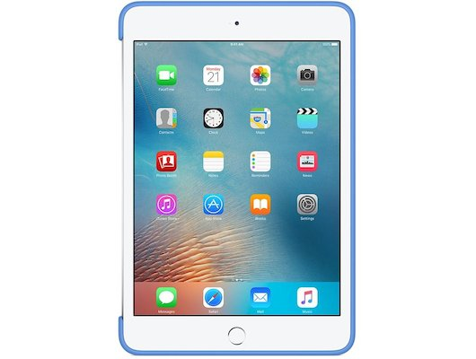 Чехол для планшетного ПК Apple iPad mini 4 Silicone Case - Royal Blue (MM3M2ZM/A)