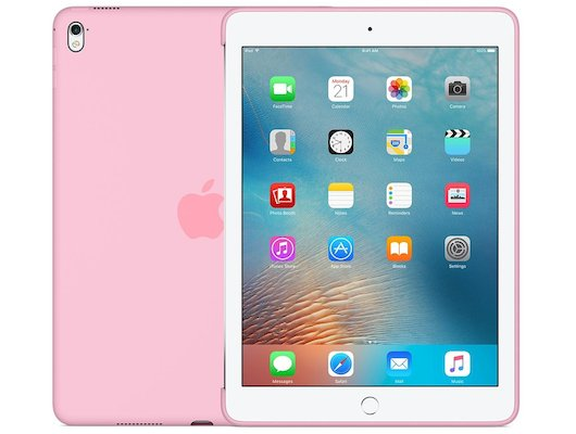 Чехол для планшетного ПК Apple Silicone Case iPad Pro 9.7 - Light Pink (MM242ZM/A)