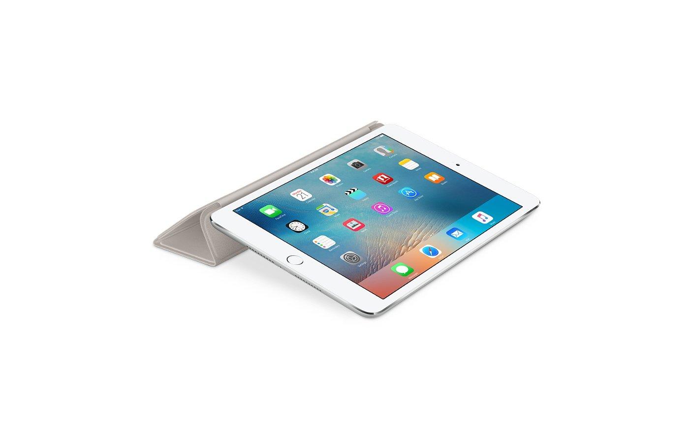 Чехол для планшетного ПК Apple iPad mini 4 Smart Cover - Stone (MKM02ZM/A)