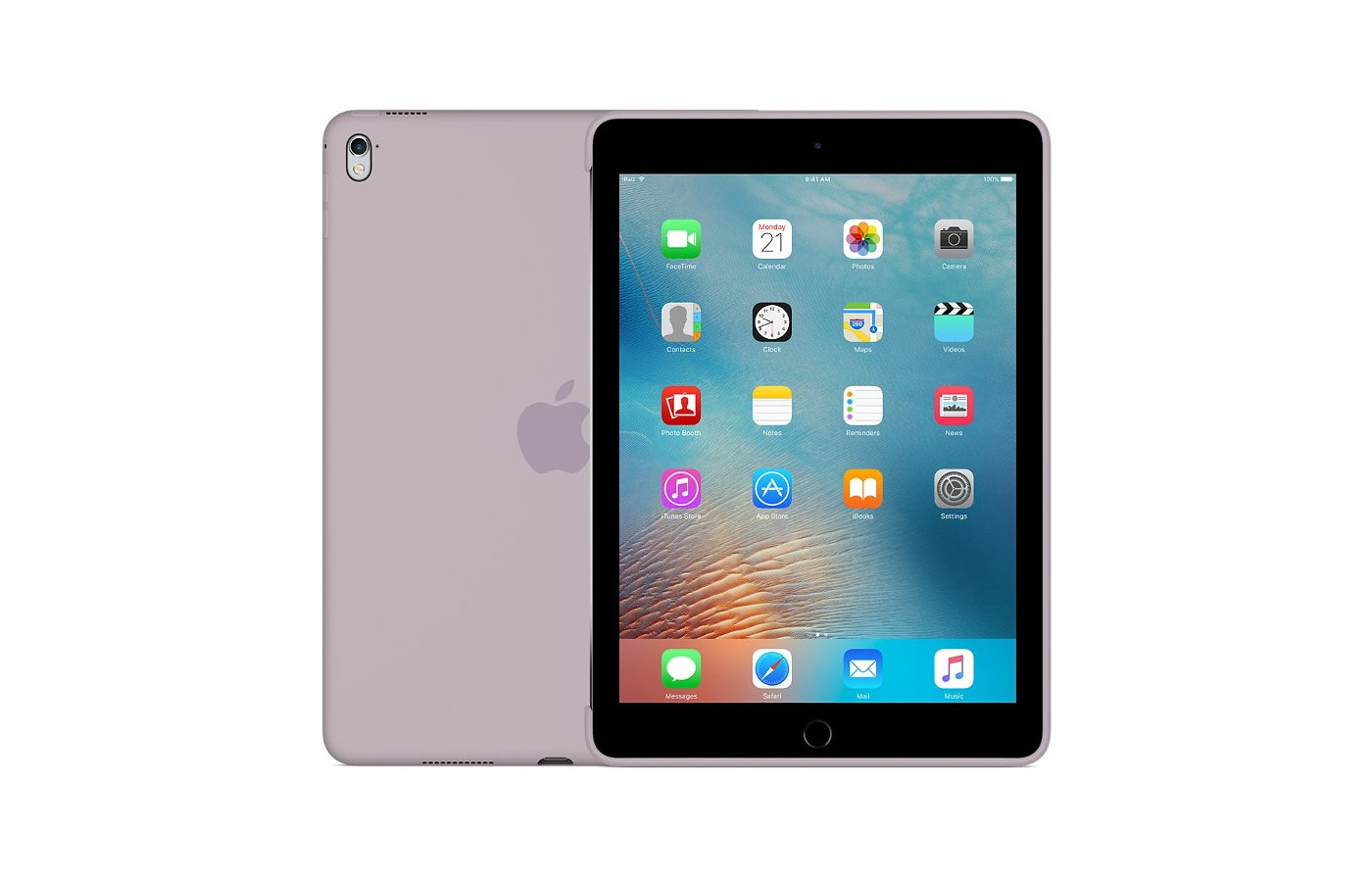Чехол для планшетного ПК Apple Silicone Case iPad Pro 9.7 - Lavender (MM272ZM/A)