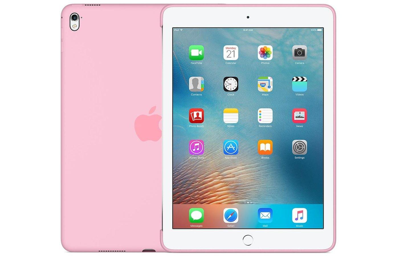 Чехол для планшетного ПК Apple Silicone Case iPad Pro 9.7 - Light Pink (MM242ZM/A)