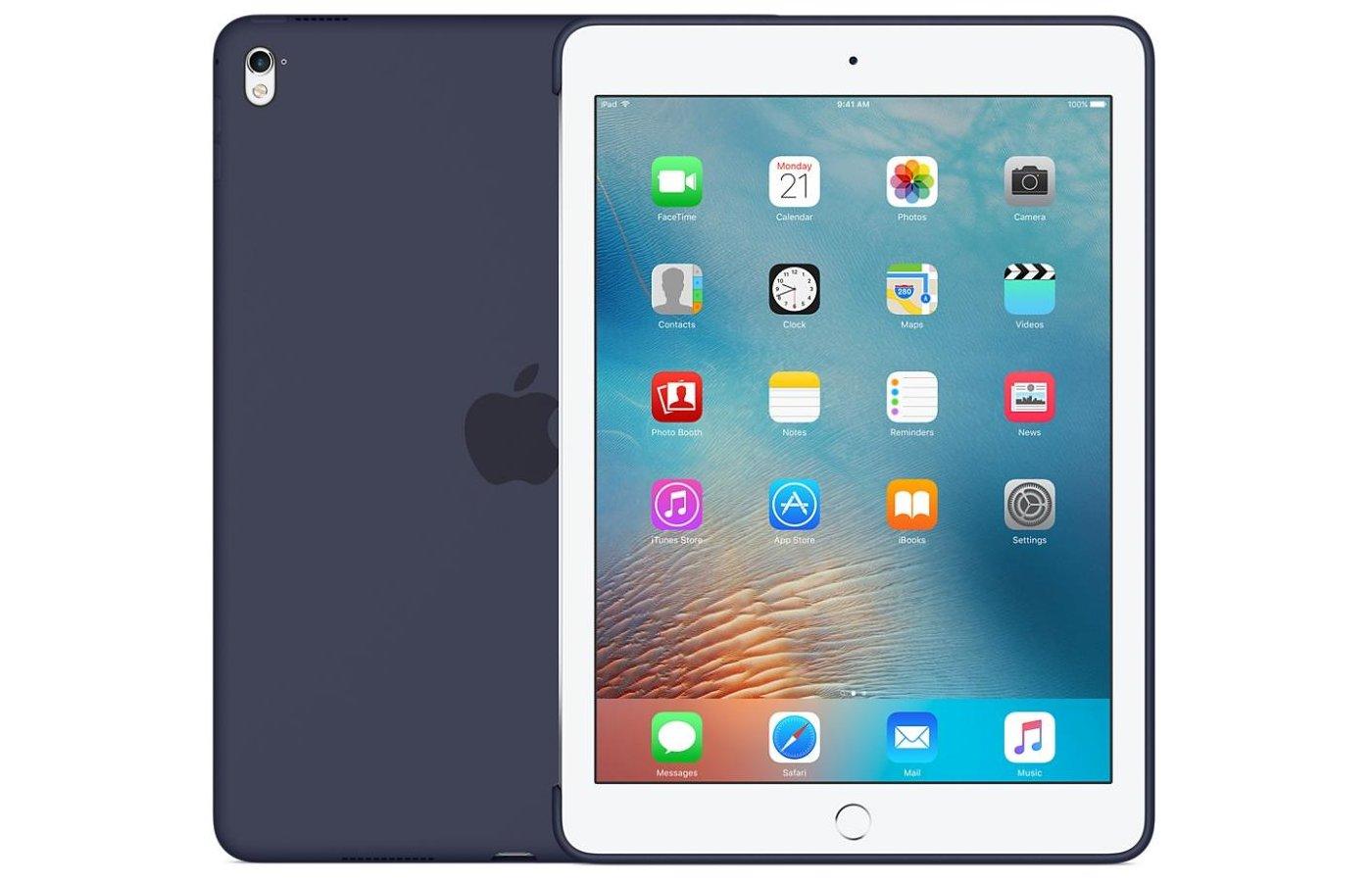 Чехол для планшетного ПК Apple Silicone Case iPad Pro 9.7 - Midnight Blue (MM212ZM/A)