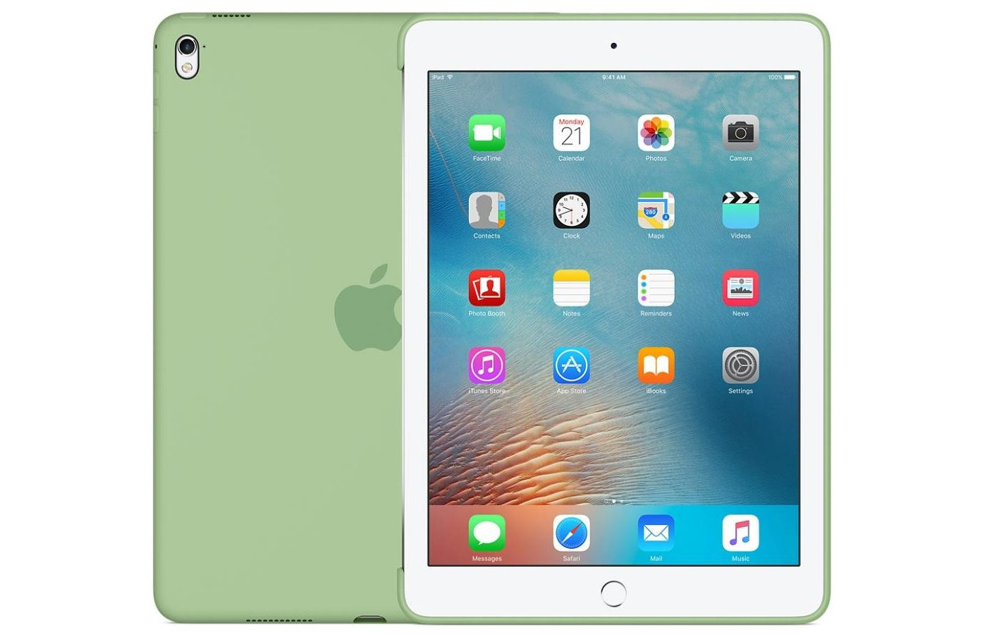 Чехол для планшетного ПК Apple Silicone Case iPad Pro 9.7 - Mint (MMG42ZM/A)