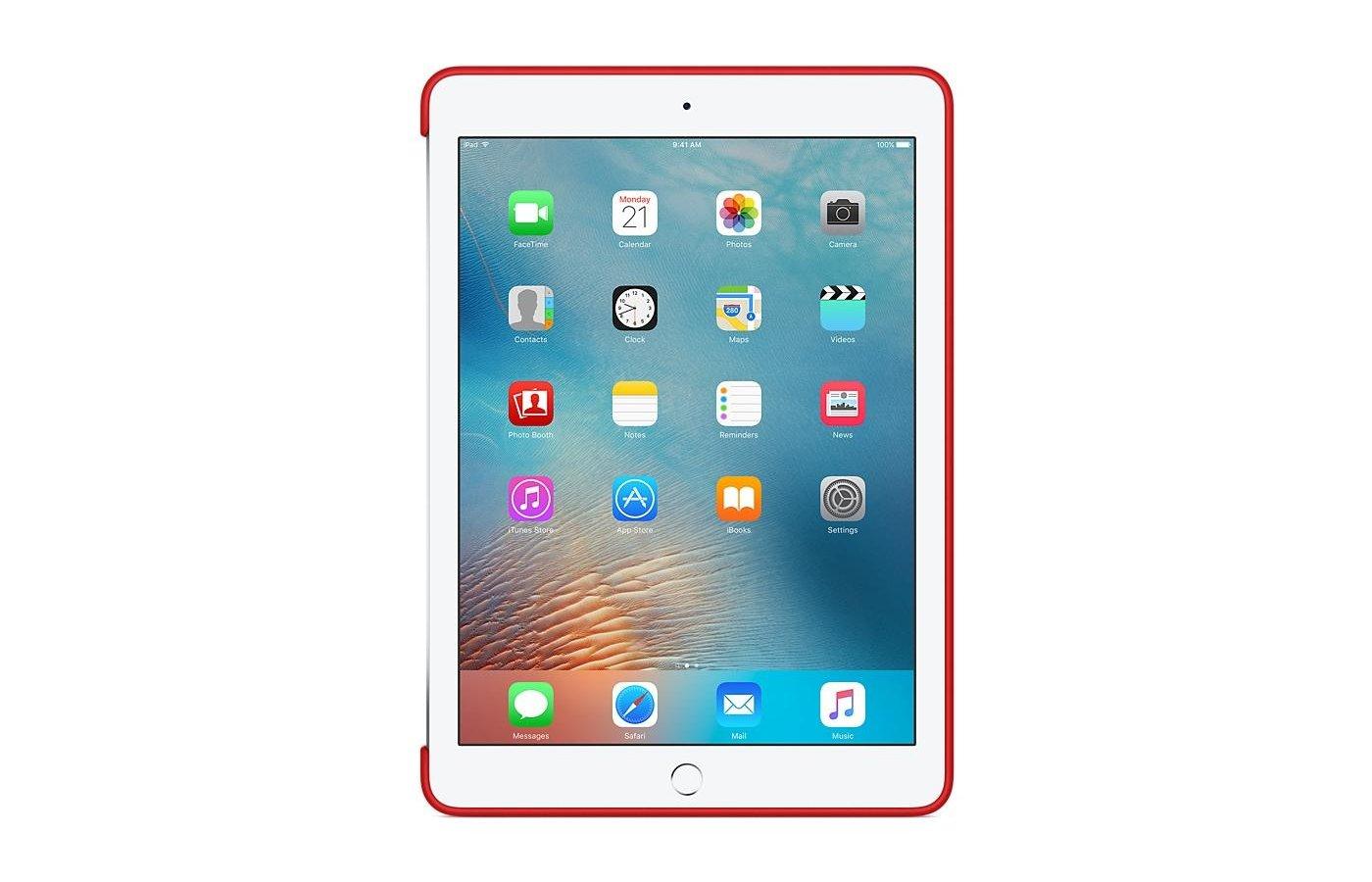 Чехол для планшетного ПК Apple Silicone Case iPad Pro 9.7 - RED (MM222ZM/A)