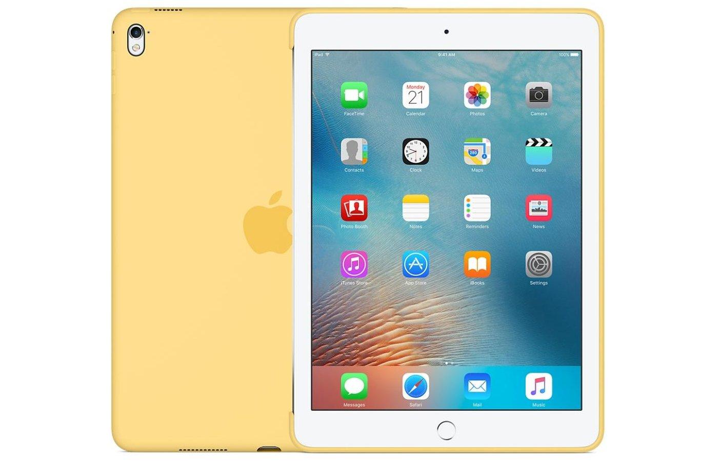 Чехол для планшетного ПК Apple Silicone Case iPad Pro 9.7 - Yellow (MM282ZM/A)