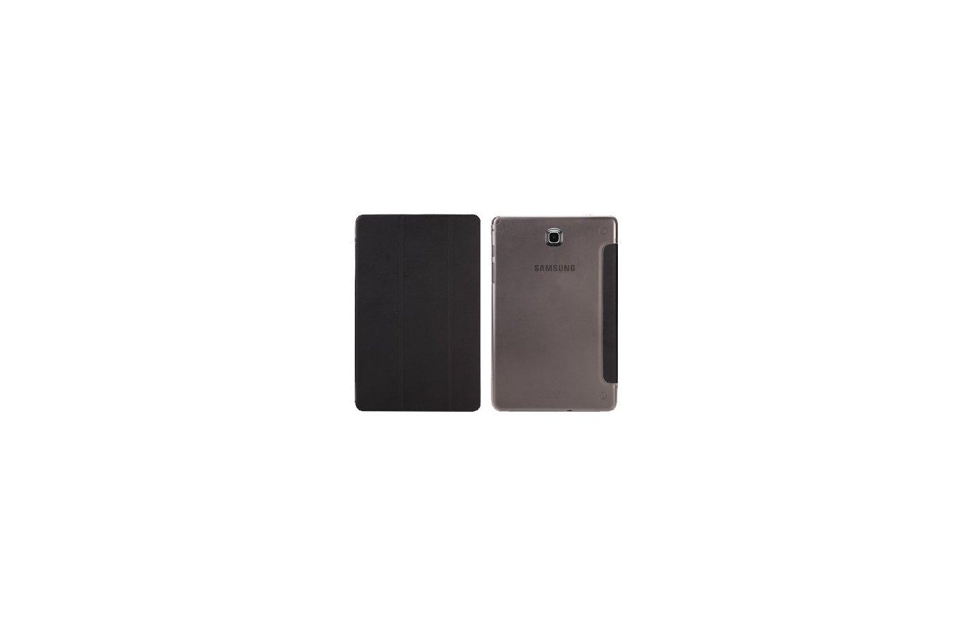 Чехол для планшетного ПК IT BAGGAGE для SAMSUNG Galaxy Tab A 8 hard case иск.кожа черный ITSSGTA8007-1