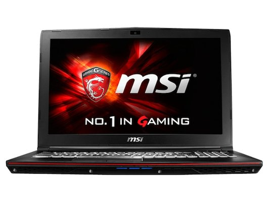 Ноутбук MSI GP62 6QF-467RU /9S7-16J522-467/ intel i5 6300HQ/8Gb/1Tb/DVDRW/GTX 960M 2Gb/15.6FHD/WiFi/Win10